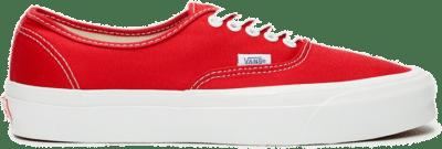Vans Og Authentic Lx Red VN0A4BV905D1