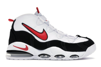 Nike Air Max Uptempo 95 White Red Black CK0892-101