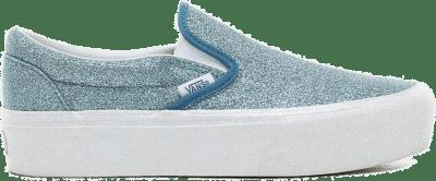 VANS Glitter Classic Slip-on Platform  VN0A3JEZTEO