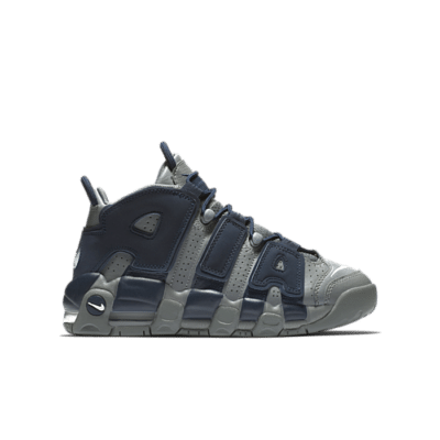 Nike Air More Uptempo 96 Cool Grey Midnight Navy (GS) 415082-009