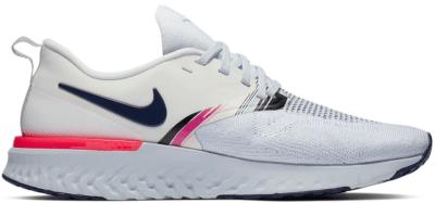 Nike Odyssey React 2 Flyknit White Blue Void Hyper Pink (W) AV2608-146