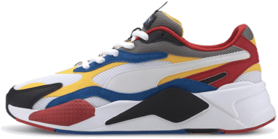 """PUMA Sportstyle RS-Xu00b3 Puzzle """"White Spectra"""" 37157004"""