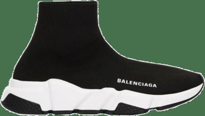 Balenciaga Speed Sneaker Black White Sole (W) 587280W05G91000