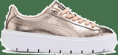 Puma Basket Platform Trace Luxe s voor Dames 367852_01