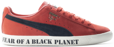 Puma Clyde x Public Enemy Red 374539-01