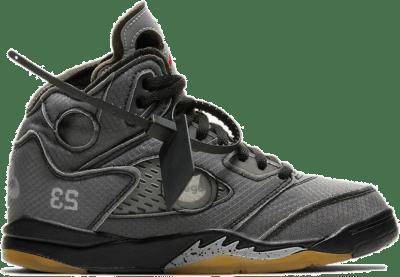Jordan 5 Retro Off-White Black (PS) CV4827-001