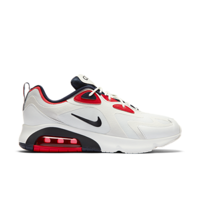 Nike Air Max 200 White Red Obsidian CT1262-101
