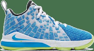 Nike LeBron 17 Sprite (PS) BQ5595-434