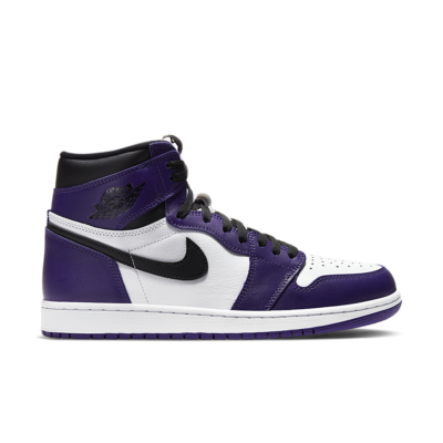 Air Jordan 1 'Court Purple' Court Purple/White/Black 555088-500