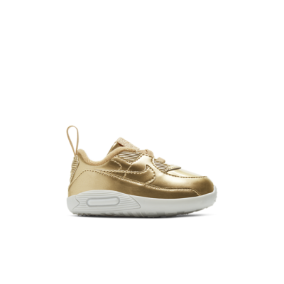 Nike Women's Air Max 90 'Metallic Gold' Metallic Gold/Club Gold/White/Metallic Gold CV2397-700