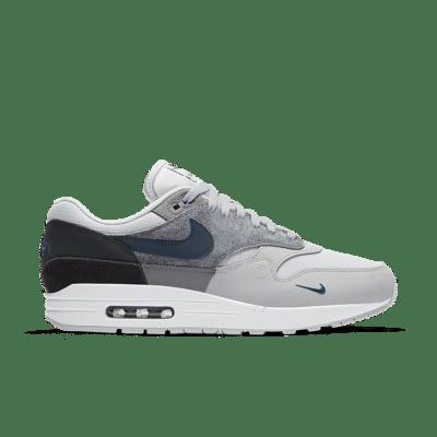 Nike Air Max 1 'London' Smoke Grey/Dark Smoke Grey/Thunder Grey/Valerian Blue CV1639-001
