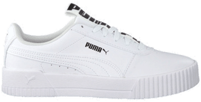 Puma Carina Bold sposrtschoenen voor Dames Wit 372853_01