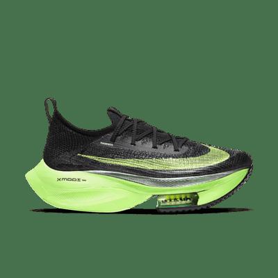 Nike Air Zoom Alphafly Next% Black Electric Green (W) CZ1514-400