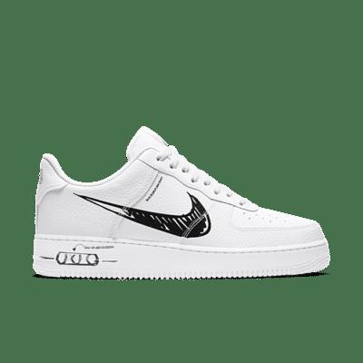 "Nike Air Force 1 LV8 Utility ""Sketch"" CW7581-101"