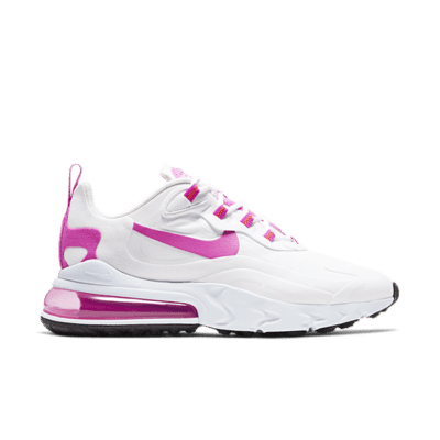 Nike Air Max 270 React White Fire Pink (W) CJ0619-100