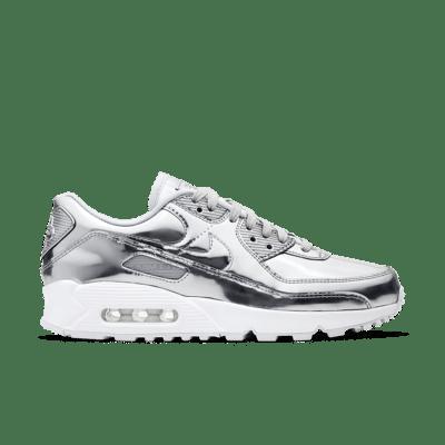 """Nike WMNS AIR MAX 90 MEDAL PACK """"SILVER"""" CQ6639-001"""