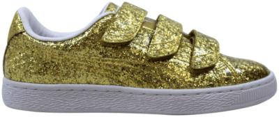 Puma Basket Strap Glitter Gold  (W) 364070-02
