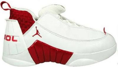 Jordan 15 OG Low White Red 136035-161