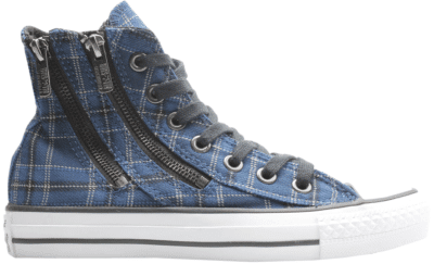 Converse Chuck Taylor All-Star Double Zip Hi Blue Plaid (W) 549573C