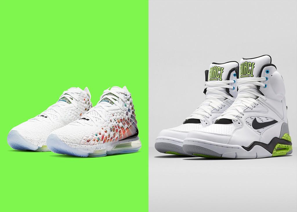 Daar zijn ze dan! Foto's van de Nike LeBron 17 'Air Command Force'