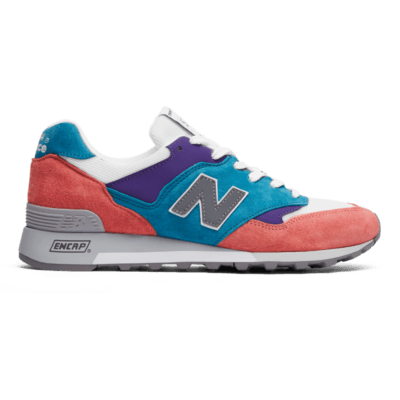 Herren New Balance 577 City Sunrise Pink/Teal/Purple M577GPT