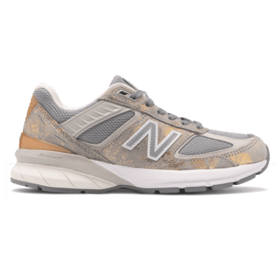 New Balance Made in US 990v5  Moonbeam/Silver W990MB5