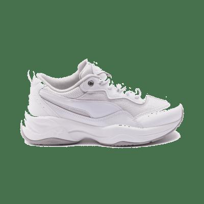 Puma Cilia Patent sportschoenen voor Dames Grijs / Wit / Zilver 372500_01