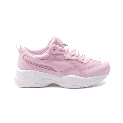 Puma Cilia Patent sportschoenen voor Dames Roze / Wit 372500_04