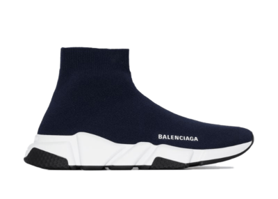 Balenciaga Speed Trainer Navy White Sole (W) 587280W17024005