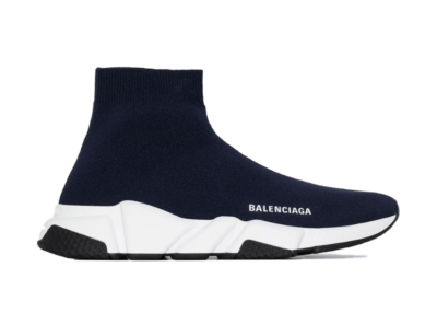 Balenciaga Speed Trainer Navy White Sole 587286W17024005
