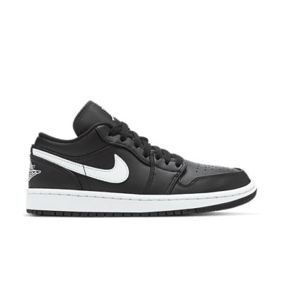 Jordan 1 Low Black White (W) AO9944-001
