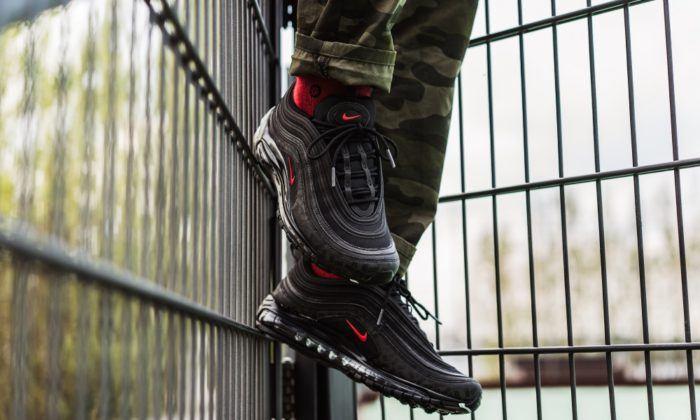 Nike Air Max 97 red ruby Skepta