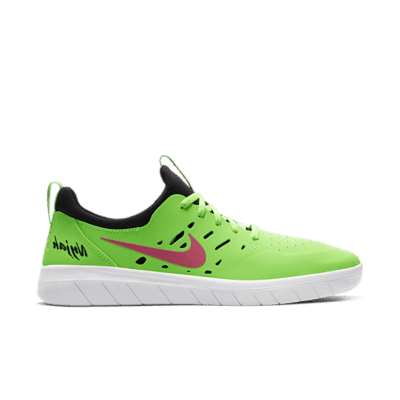 Nike Nyjah Free SB 'Watermelon' Green AA4272-301
