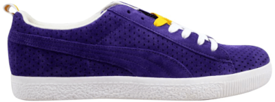 Puma Clyde X Undefeated Gametime Violet/White-Team Yellow 354271-03