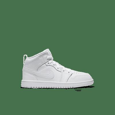 Jordan 1 Mid White 640734-130