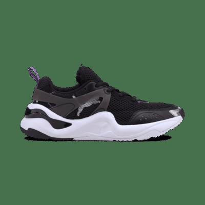 Puma Rise Contrast sportschoenen Zwart / Groen 372323_02