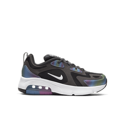 Nike Air Max 200 Bubble Pack Black (GS) CT9632-001