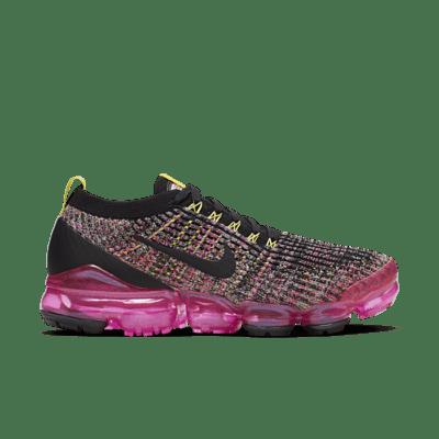 Nike Air VaporMax Flyknit 3 Black Pink Blast (W) AJ6910-006