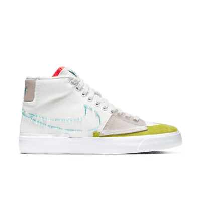 "Nike Skateboarding Zoom Blazer Mid Edge ""Hack Pack White"" CI3833-101"