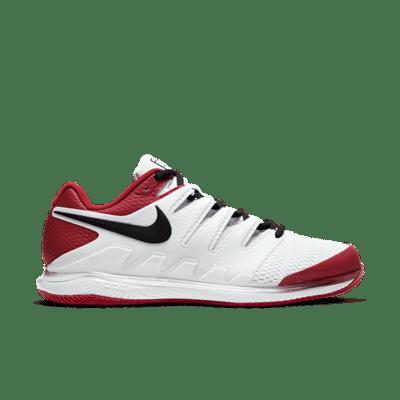 NikeCourt Air Zoom Vapor X Hardcourt Wit AA8030-109
