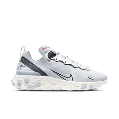 Nike React Element 55 Zilver CU3009-002