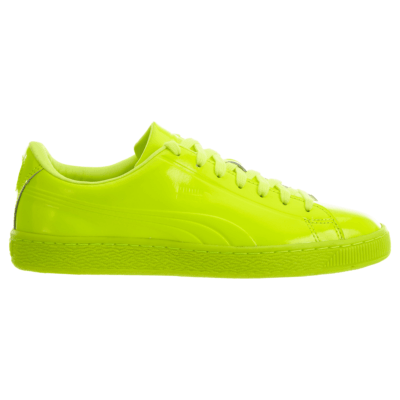 Puma Basket Classic Patent Emboss Safety Yellow 362035-02