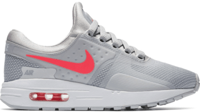 Nike Air Max Zero Wolf Grey Racer Pink (GS) 881229-003