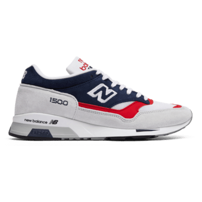 New Balance Made in UK 1500 – Grey/Blue/Red (Grösse EU 38) Grey/Blue/Red M1500GWR