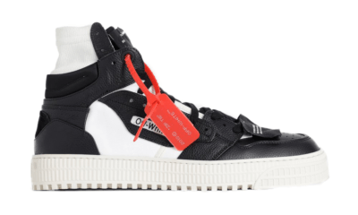OFF-WHITE Off-Court Black Yellow SS19 OMIA065S198000161001
