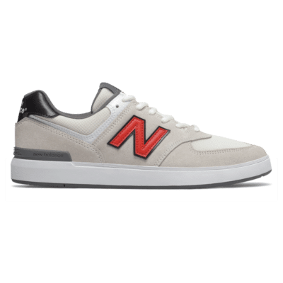 New Balance All Coasts 574  White/Red AM574WHR