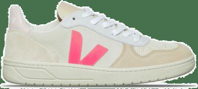 """Veja V-10 Suede """"Beige & Pink"""" VX032188"""