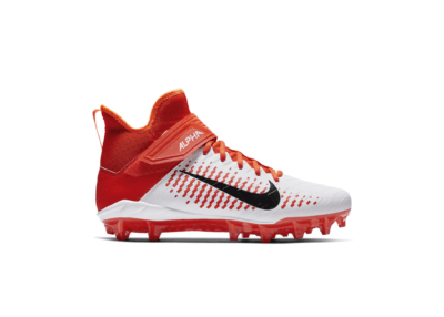Nike Alpha Menace Pro 2 Mid White Team Orange AQ3209-107