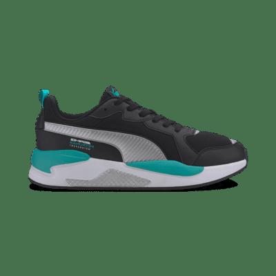Puma Mercedes X-Ray hardloopschoenen Zwart / Zilver 306509_02