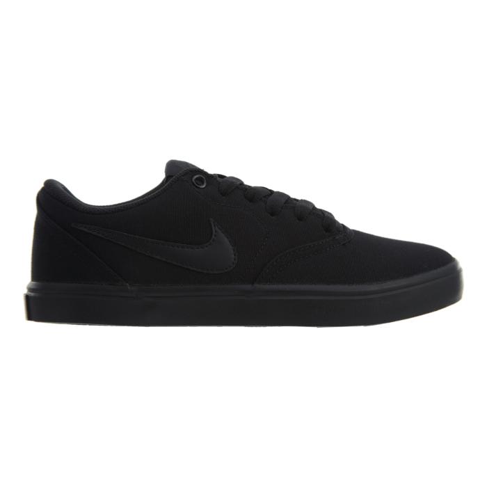 Nike Sb Check Solar Cnvs Black Black Anthracite W 921463 001 Zwart
